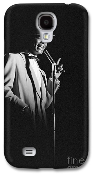 African-american Galaxy S4 Cases - Nat King Cole performing in 1954 Galaxy S4 Case by The Phillip Harrington Collection