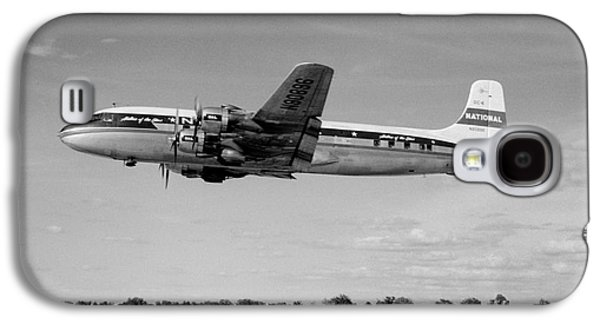 National Airlines Nal Douglas Dc-6 Galaxy S4 Case by Wernher Krutein