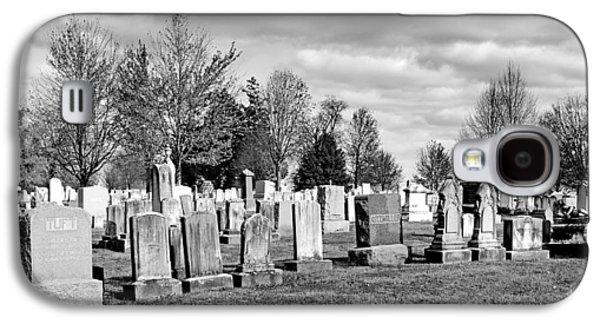 Civil War Site Galaxy S4 Cases - National Cemetery - Gettysburg Battlefield Galaxy S4 Case by Brendan Reals