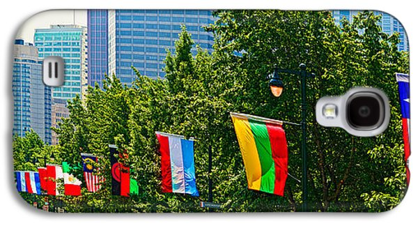 Downtown Franklin Galaxy S4 Cases - National Flags Of The Countries Galaxy S4 Case by Panoramic Images