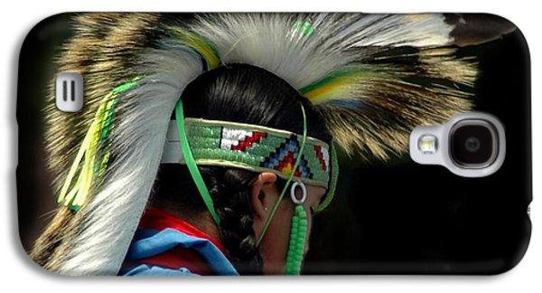 Struckle Galaxy S4 Cases - Native American Boy Galaxy S4 Case by Kathleen Struckle