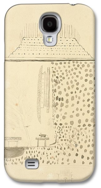 Native Building Galaxy S4 Case by British Library