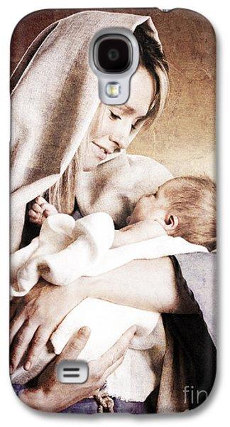 Nativity Galaxy S4 Case by Cindy Singleton