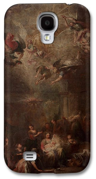 The Kings Paintings Galaxy S4 Cases - Nativity of Mary Galaxy S4 Case by Andrea Celesti