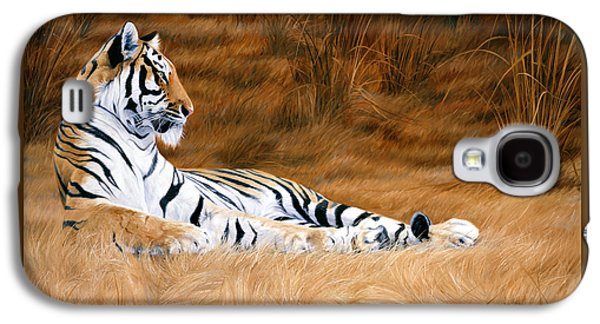 Tiger Galaxy S4 Cases - Natural Beauty Galaxy S4 Case by Lucie Bilodeau