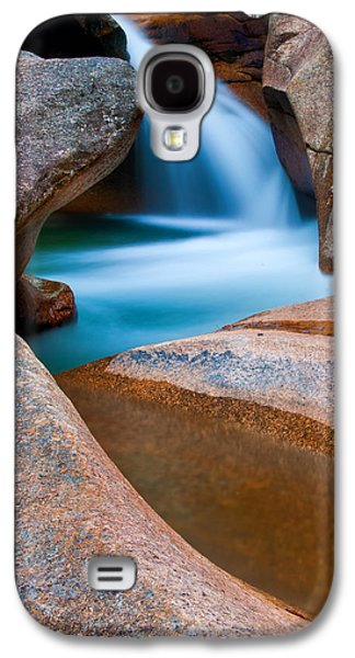Abstract Nature Galaxy S4 Cases - Natural Sculpture - Basin Formations Galaxy S4 Case by Thomas Schoeller