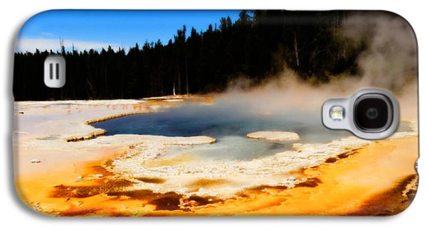 Yellowstone Digital Galaxy S4 Cases - Natural Spring Galaxy S4 Case by Dan Sproul