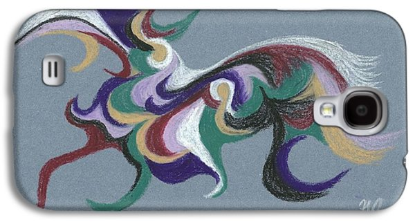 Coloured Pastels Galaxy S4 Cases - Nature Abstract 1 Galaxy S4 Case by Helen John