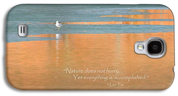 Reflections Galaxy S4 Cases - Nature Does Not Hurry Galaxy S4 Case by Bill  Wakeley