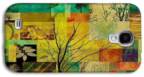 Color Block Galaxy S4 Cases - Nature Patchwork Galaxy S4 Case by Ann Powell