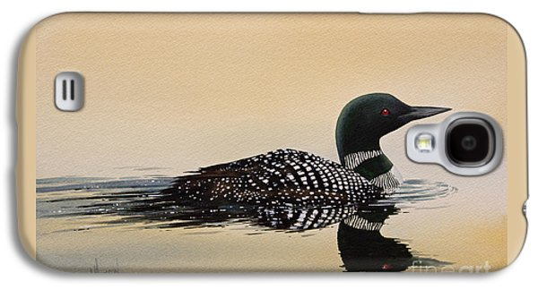 Loon Galaxy S4 Cases - Nature So Fair Galaxy S4 Case by James Williamson