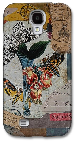 Nature Study Mixed Media Galaxy S4 Cases - Nature Study Galaxy S4 Case by Tamyra Crossley