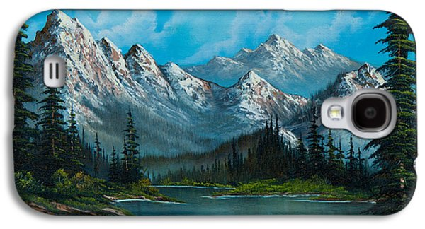 Wilderness Paintings Galaxy S4 Cases - Natures Grandeur Galaxy S4 Case by C Steele
