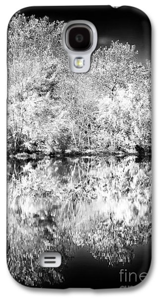 Pine Barrens Galaxy S4 Cases - Natures Mirror Galaxy S4 Case by John Rizzuto