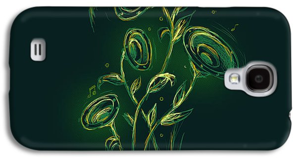 Plants Galaxy S4 Cases - Natures music box Galaxy S4 Case by Budi Kwan