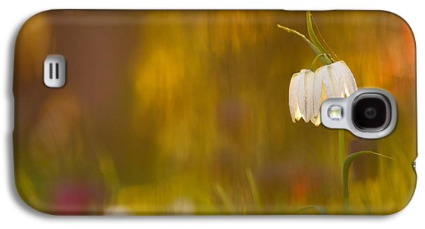 Meleagris Galaxy S4 Cases - Natures Painting - Snakes head fritillaries Galaxy S4 Case by Roeselien Raimond