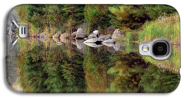Reflections In Water Galaxy S4 Cases - Natures Reflection Galaxy S4 Case by Mark Papke
