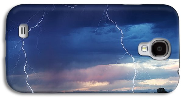 Nature's Thunder Galaxy S4 Case by Cindy Singleton