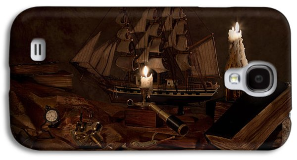 Wine Holder Galaxy S4 Cases - Nautically Inspired Galaxy S4 Case by Mary Tomaino