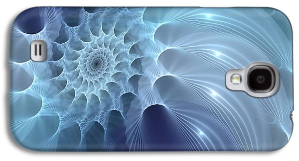 Creativity Galaxy S4 Cases - Nautilus Galaxy S4 Case by John Edwards