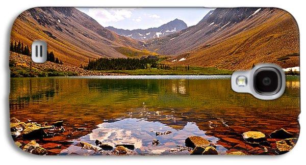 Climbing Galaxy S4 Cases - Navajo Lake Galaxy S4 Case by Aaron Spong