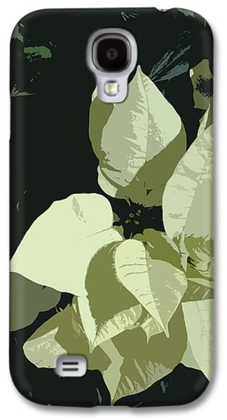 Alga Paintings Galaxy S4 Cases - Navidad Galaxy S4 Case by Julio R Lopez Jr