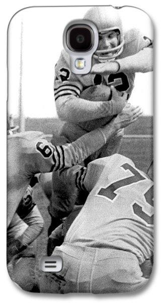 Navy Quarterback Staubach Galaxy S4 Case by Underwood Archives