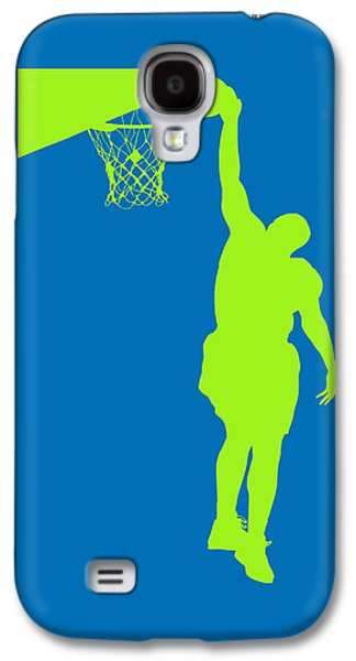 Dunk Galaxy S4 Cases - Nba Shadow Players Galaxy S4 Case by Joe Hamilton