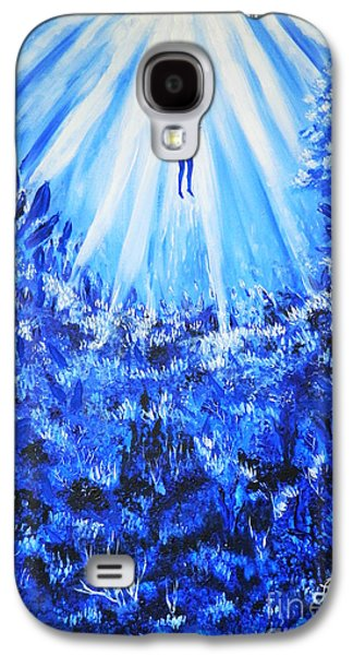 Angel Mermaids Ocean Galaxy S4 Cases - Nearly There Galaxy S4 Case by Samira Butt