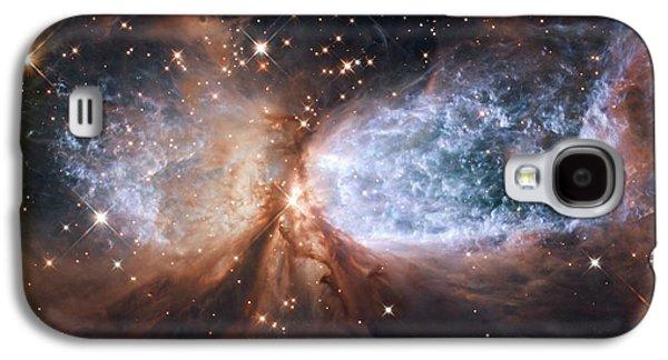 Jet Star Galaxy S4 Cases - Nebula Sh 2-106, Hst Image Galaxy S4 Case by Nasa/esa/hubble Heritage Team (stsci/aura)