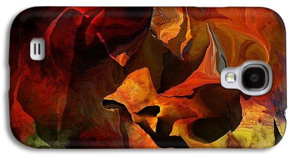 Abstract Digital Art Galaxy S4 Cases - Necromamncer Galaxy S4 Case by David Lane