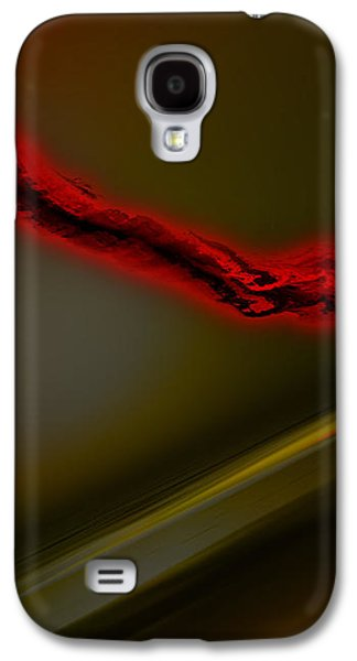 Abstract Digital Drawings Galaxy S4 Cases - Negative Dusk - Panel I Galaxy S4 Case by Paul Davenport