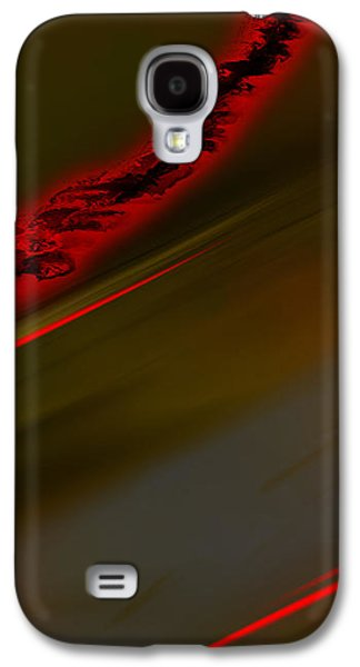 Abstract Digital Drawings Galaxy S4 Cases - Negative Dusk - Panel II Galaxy S4 Case by Paul Davenport