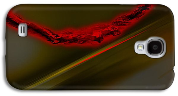 Abstract Digital Drawings Galaxy S4 Cases - Negative Dusk  Galaxy S4 Case by Paul Davenport
