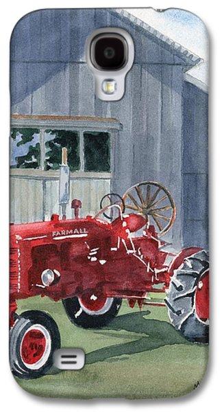 Neighbor Don's Farmall Galaxy S4 Case by Marsha Elliott
