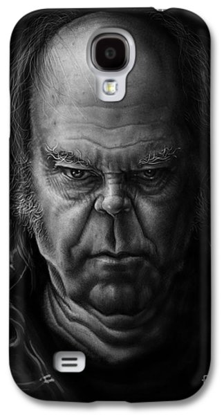 Neil Young Galaxy S4 Cases - Neil Young Galaxy S4 Case by Andre Koekemoer