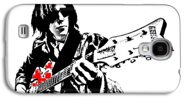 Neil Young Paintings Galaxy S4 Cases - Neil Young Galaxy S4 Case by Dave Gafford