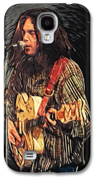 Neil Young Galaxy S4 Case by Taylan Soyturk