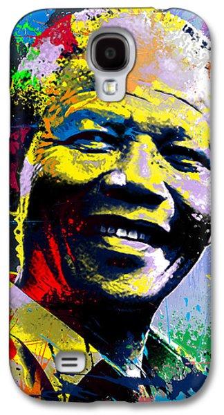 Nelson Mandela Madiba Galaxy S4 Case by Anthony Mwangi