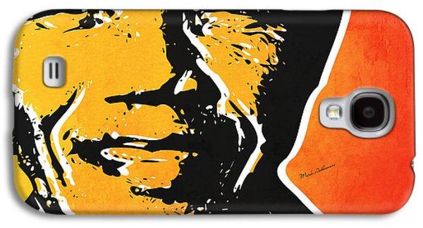 Nelson Mandela Galaxy S4 Case by Mark Ashkenazi