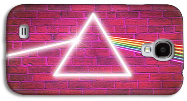 Pink Digital Art Galaxy S4 Cases - Neon Floyd Galaxy S4 Case by Cristophers Dream Artistry