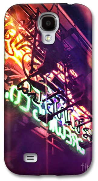 Colorful Abstract Galaxy S4 Cases - Neon Galaxy S4 Case by HD Connelly