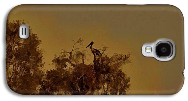 Nesting Jabiru  Galaxy S4 Case by Douglas Barnard
