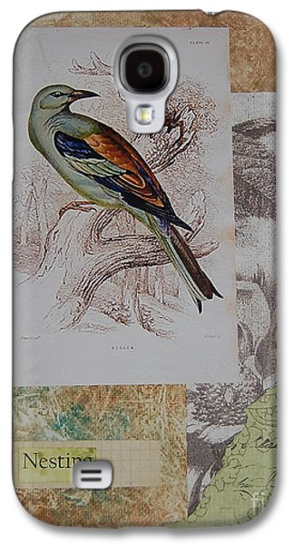 Nature Study Mixed Media Galaxy S4 Cases - Nesting Galaxy S4 Case by Tamyra Crossley