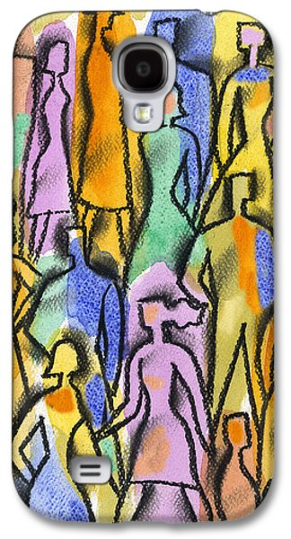 Personality Galaxy S4 Cases - Network Galaxy S4 Case by Leon Zernitsky