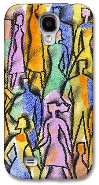 Network Galaxy S4 Case by Leon Zernitsky