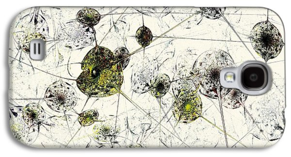 Decorative Galaxy S4 Cases - Neural Network Galaxy S4 Case by Anastasiya Malakhova