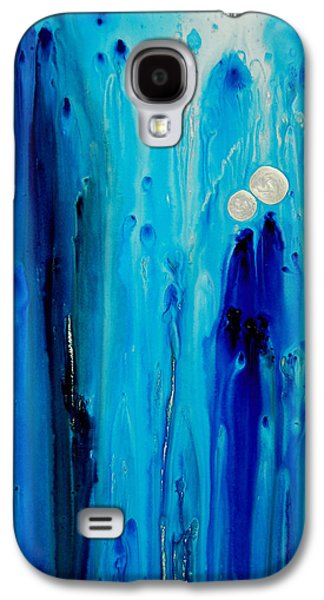 Never Alone By Sharon Cummings Galaxy S4 Case by Sharon Cummings