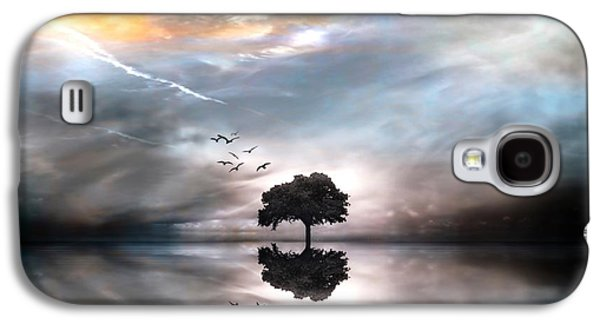 Waterscape Galaxy S4 Cases - Never Alone Galaxy S4 Case by Photodream Art