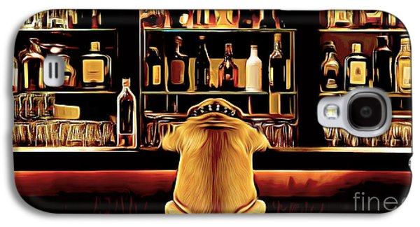 Puppy Digital Art Galaxy S4 Cases - Never Bet the underdog Galaxy S4 Case by Larry Espinoza